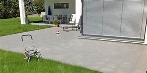 Terrasse stein modern pflaster und platten nowaday garden for Terrasse stein