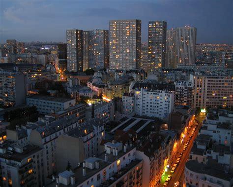 dans le quartier chinois photo de 13ème arrondissement vivre dans une tour panoramas bloc notes