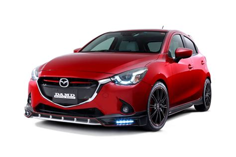 Mazda Cx3 Modification by 2016 Mazda2 And Cx 3 Get Aggressive Kits From Damd In