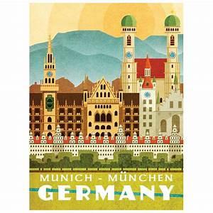 Vintage Möbel München : vintage m nchen poster travel m nchen pinterest m nchen poster und vintage ~ Indierocktalk.com Haus und Dekorationen