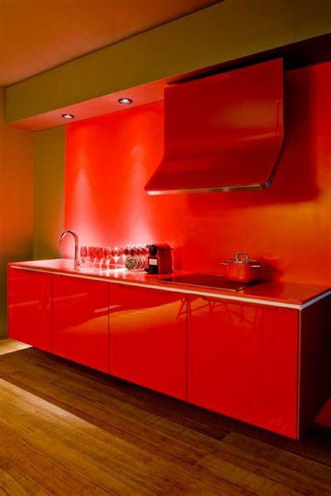 Arbeitsplatte Rot Kuche