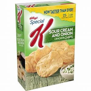 Kellogg's Special K Sour Cream and Onion Cracker Chips, 4 ...