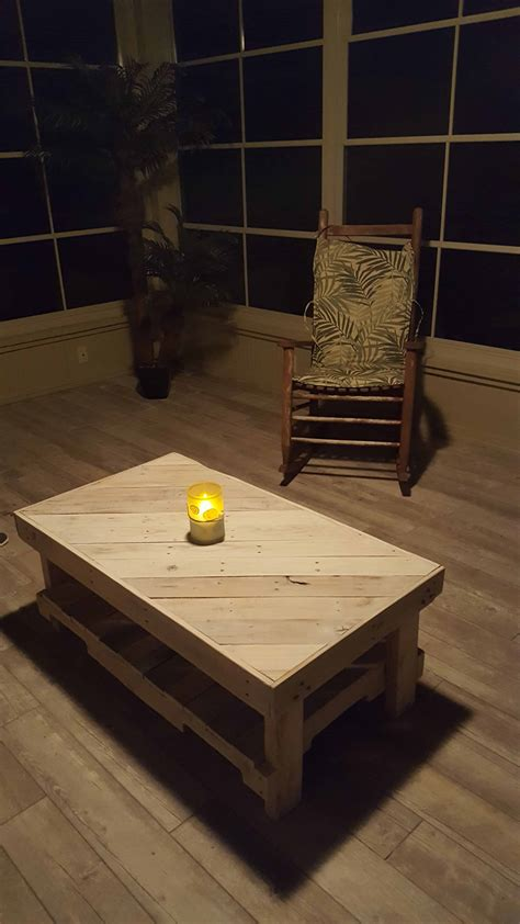 florida room pallet coffee table  matching  tables