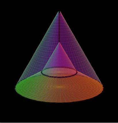 Cone 4d 3d Rotating Geometry Imgur Triangle