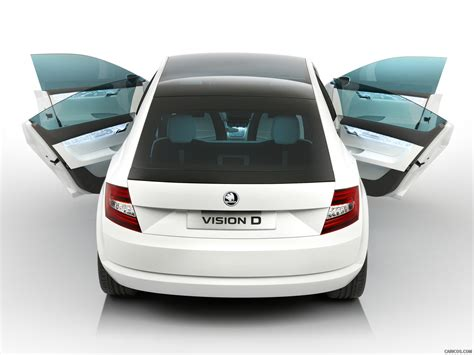 Skoda Visiond Design Concept Rear Wallpaper 49