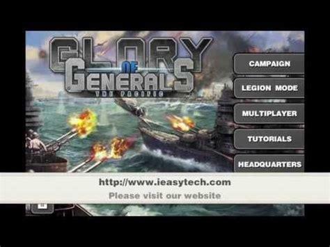 glory  generals pacific hd apk mod