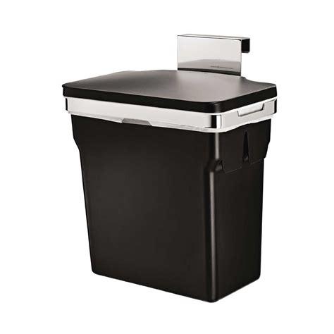 inside cabinet trash can 2 6 gallon cabinet trash can hanging cabinet mount waste