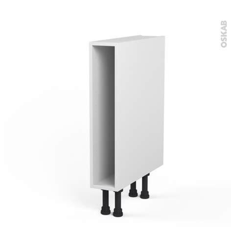 meuble bas cuisine largeur 15 cm caisson bas n 3 meuble de cuisine l15 x h70 x p56 cm sokleo oskab
