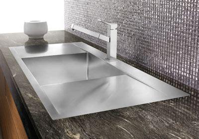 flush mount kitchen sinks blanco flow inset flushmount microedge 1 sink 3498