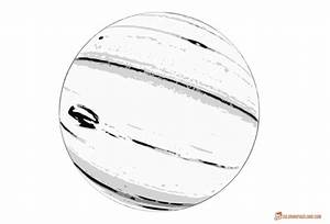 Planets Coloring Pages - Free Black and White Printables
