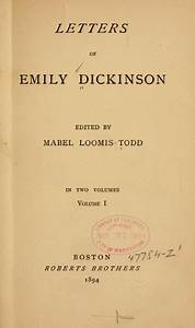 letters of emily dickinson emily dickinson pinterest With letters for emily
