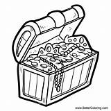 Treasure Chest Coloring Pages Clipart Drawing Printable Clip Pirate Water Under Colouring Svg Template Clipartmag Adults Templates sketch template