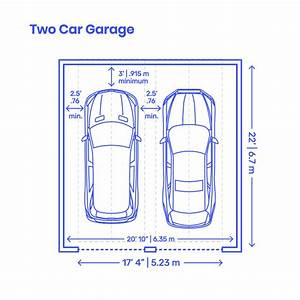Garage Layouts Dimensions  U0026 Drawings