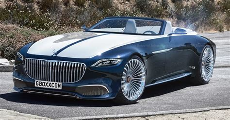 Production-spec Mercedes-maybach Vision 6 Cabriolet Has