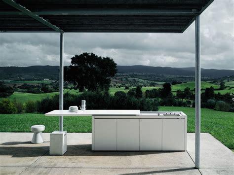 corian outdoor kitchen k2 outdoor by boffi design norbert wangen