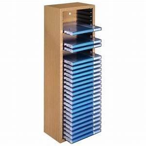 Cd Rack Holz : hama cd rack 30 beuken sterk houten cd opbergbox met veer mechanisme en muurbevestiging voor ~ Markanthonyermac.com Haus und Dekorationen