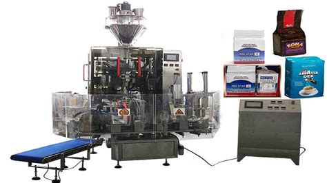 hexahedral bags vacuum filling packaging machinery food powder granules automated production