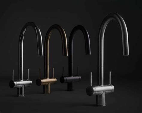 riobel launches  collection  kitchen faucets