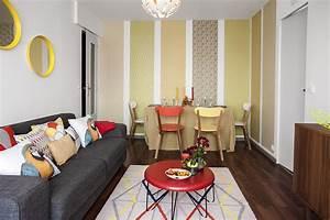avant apres metamorphoser un petit salon maison creative With decorer un petit salon