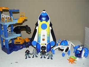 Imaginext Rocket Ship Plus Two Add On Space Packs West ...