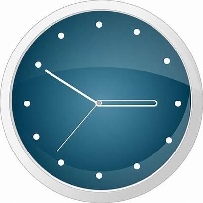 Clock Vector Clipart Clip Wall Analog Face
