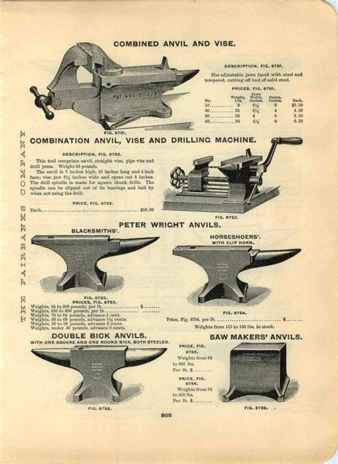 advertisement blacksmiths peter wright anvil anvils