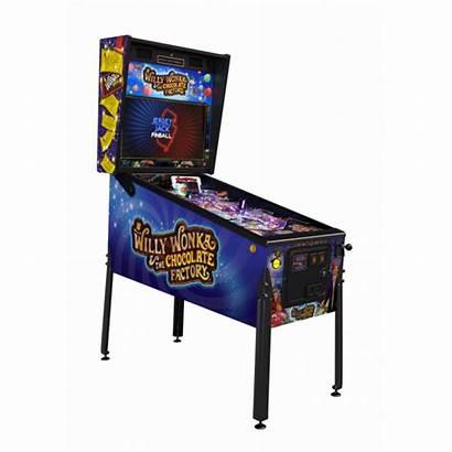 Pinball Wonka Willy Factory Chocolate Machine Jersey