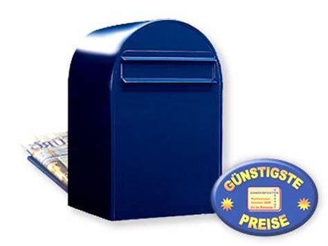 briefkasten zum einmauern briefkasten bobi classic b 5011 schwarzblau briefkastenverkauf de