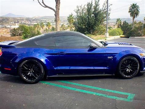 mustang wide body kit fits gt  eco
