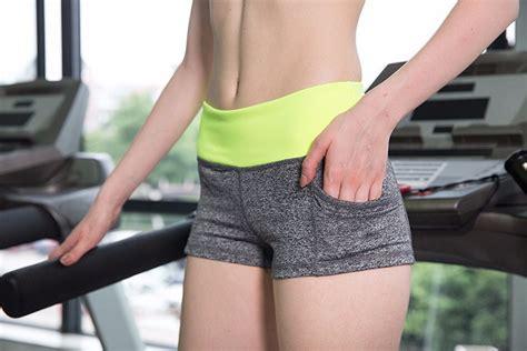 jepit rambut 5pcs celana pendek olahraga wanita sport fitness running shorts