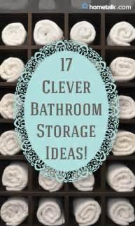 clever bathroom storage ideas 21 brilliant bathroom storage ideas idea box by lura