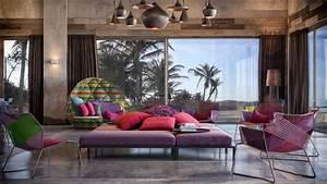 Colorful, Exuberant Interior Design: Inspiration from W