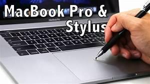 2016  U0026 2017 Macbook Pro Stylus Test