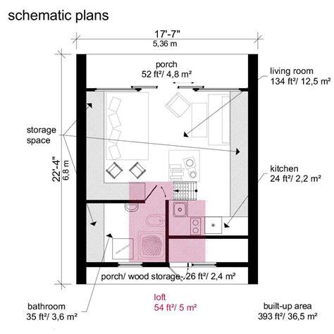 a frame blueprints a frame tiny house plans