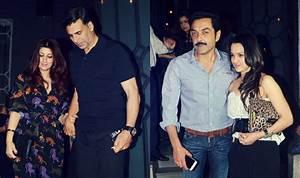 PHOTOS: See Akshay Kumar & Twinkle Khanna's double dinner ...