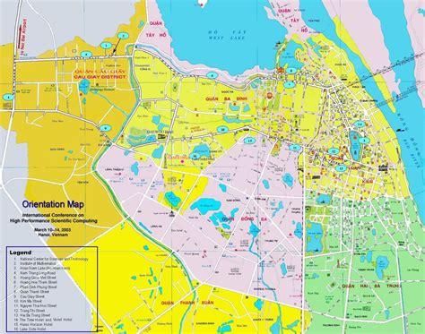 vietnam map hanoi