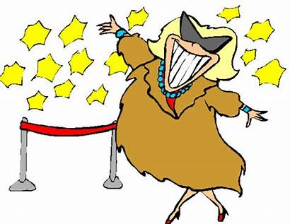 Fame Clipart Star Clip Hall Hollywood Actor