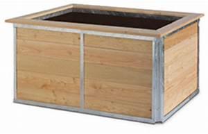 Hochbeet In L Form : hortico das hochbeet bausatz aus l rche stahl ~ Michelbontemps.com Haus und Dekorationen