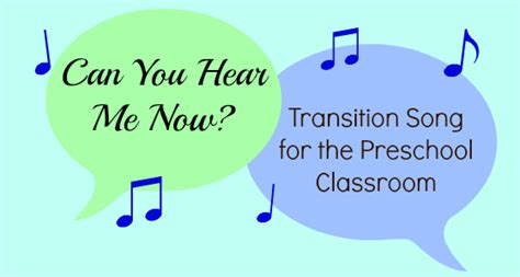 transition song for the preschool classroom pre k pages 848 | transition song for classroom