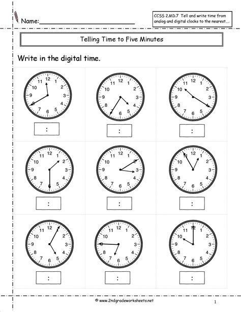 grade math common core state standards worksheets