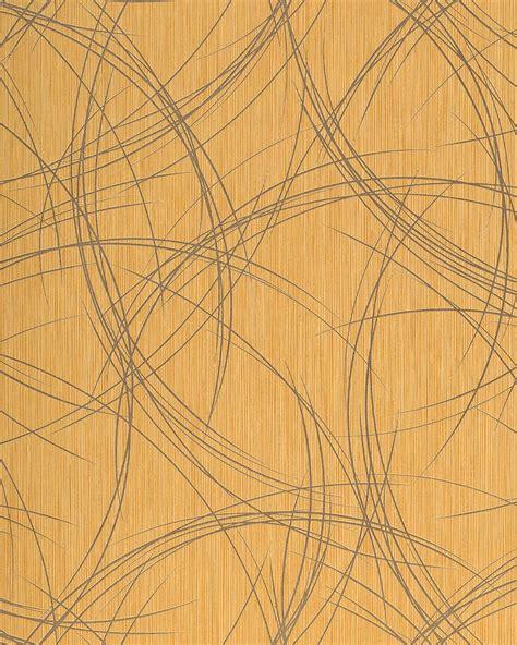 Tapeten Metallic Look by Edem 1021 11 Designer Tapete Risse Struktur Kreise
