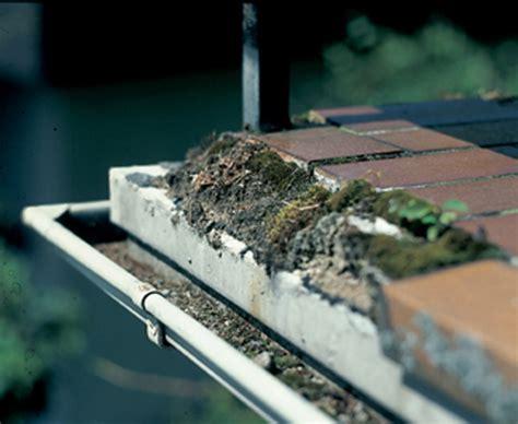 balkonentwaesserung haelt den balkon  schuss bauende