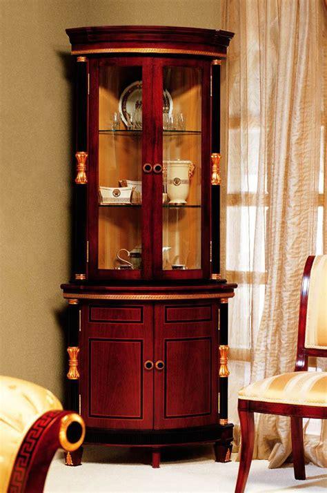 rosewood baroque corner curio cabinet ebay