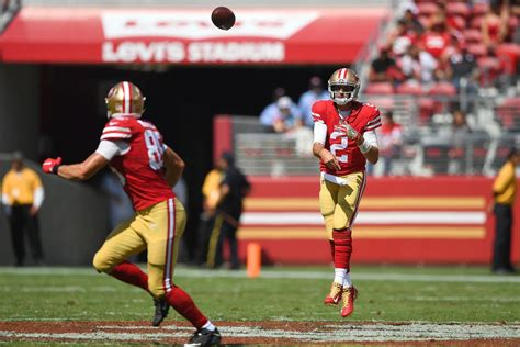 jimmie ward george kittle  ers practice report