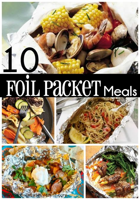 foil packet 10 easy foil packet meals for the family