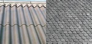 Renovation Toiture Fibro Ciment Amiante : recouvrir une toiture en fibro ciment rev tements modernes du toit ~ Nature-et-papiers.com Idées de Décoration