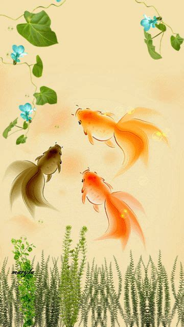 Fish Animated Wallpaper For Mobile - free animated gold fish mobile wallpaper by maryla75 on