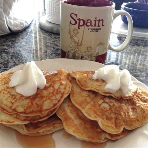 Coconut Flour Protein Pancakes - by Liliana H. - Protein Pow