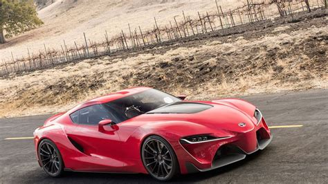 2019 Toyota Supra Side Picture