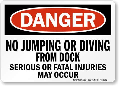 loading dock signs mysafetysigncom